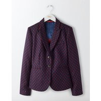 Boden Elizabeth British Tweed Blazer Red Women Boden, Red