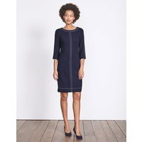 Alda Dress Navy Women Boden, Navy