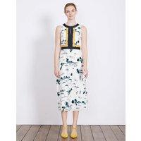 Leonie Dress Ivory Women Boden, Ivory