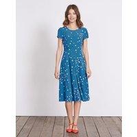 Calissa Dress Blue Women Boden, Blue