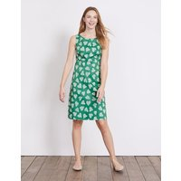 Diane Dress Eden Cluster Heart Women Boden, Green