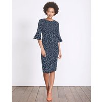 Delia Dress Navy Women Boden, Navy