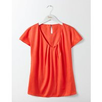 V-Neck Ravello Red Women Boden, Red