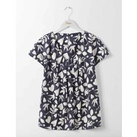 V Neck Ravello Navy Women Boden, Navy