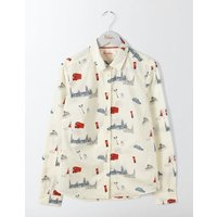 The Classic Shirt Ivory Women Boden, Ivory