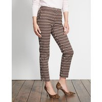 Richmond 7/8 Trousers Brown Women Boden, Brown