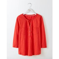 Easy Jersey Shirt Red Women Boden, Red