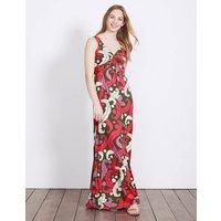 Twist Front Jersey Maxi Dress Multi Women Boden, Multicouloured