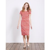 Phoebe Jersey Dress Red Women Boden, Red