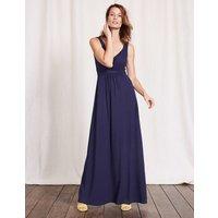 Jersey Maxi Dress Blue Women Boden, Blue