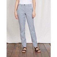 Rachel Chino Trousers Ticking Stripe Women Boden, Multi