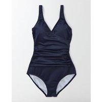 Wrap Front Swimsuit Navy Women Boden, Navy