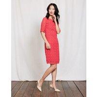 Poppy Lace Dress Strawberry Sundae Women Boden, Pink