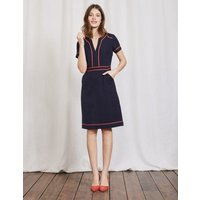 Tilda Dress Navy Women Boden, Navy