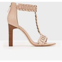 Eleana Woven Heel Nude Women Boden, Natural
