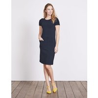 Hermione Ottoman Dress Navy Women Boden, Navy