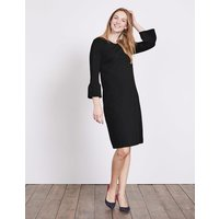 Lavinia Ponte Dress Black Women Boden, Black