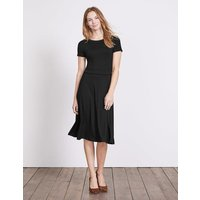 Portia Jersey Dress Black Women Boden, Black