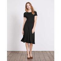 Portia Jersey Dress Black Women Boden, Black