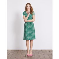 Emmeline Jersey Dress Eden Starlight Spot Women Boden, Green