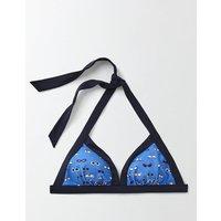 Ischia Halter Bikini Top Blue Women Boden, Blue