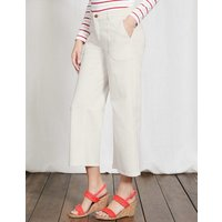 Dulverton Cropped Jeans Ivory Women Boden, Ivory