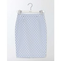 Floral Pencil Skirt Ivory Women Boden, Ivory