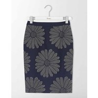 Floral Pencil Skirt Navy Women Boden, Navy