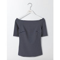 Rose Ponte Top Navy Women Boden, Navy
