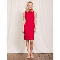 Martha Dress Poppy Red Women Boden, Red