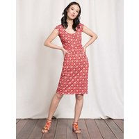 Margot Jersey Dress Red Women Boden, Red