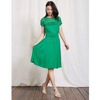 Angeline Jersey Dress Meadow Green Women Boden, Green