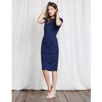 Hera Ponte Dress Imperial Blue Women Boden, Navy