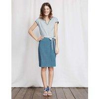 Thea Jersey Dress Blue Women Boden, Blue