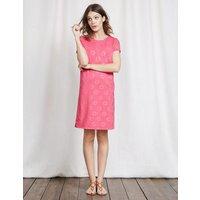 Coralie Jersey Dress Pink Women Boden, Pink