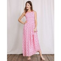 Terese Dress Mid Pink/Ivory Collage Women Boden, Pink