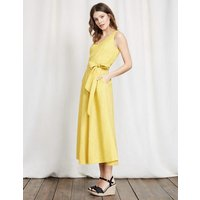 Riviera Dress Yellow Women Boden, Yellow