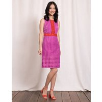 Lydia Lace Dress Cosmos Pink Women Boden, Pink