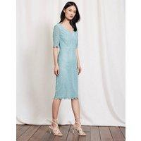 Carin Lace Dress Mineral Blue Women Boden, Blue