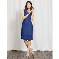 Abigail Dress Santorini Blue Women Boden, Blue
