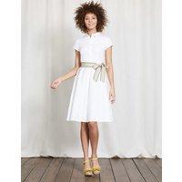 Sophia Shirt Dress White Women Boden, White