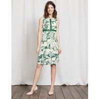 Vivienne Dress Greenhouse Fresco Floral Women Boden, Green