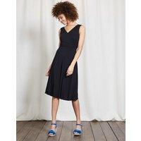 Georgia Jersey Dress Black Women Boden, Black
