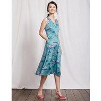 Josephine Dress Delphinium Blue Beach Women Boden, Blue
