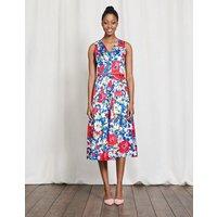 Josephine Dress Multi Bloom Women Boden, Multi