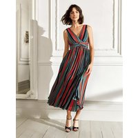 Margot Midi Dress Multi Women Boden, Multicouloured