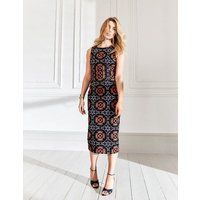 Greta Shift Dress Navy Women Boden, Multicouloured