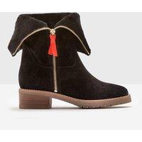 Fold-Over Sherpa Boots Black Women Boden, Black