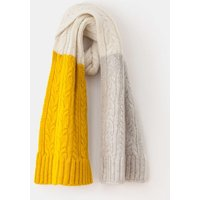 Cable Knit Scarf Silver Women Boden, Silver