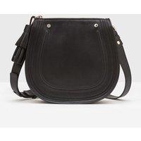 Midi Saddle Bag Black Women Boden, Black